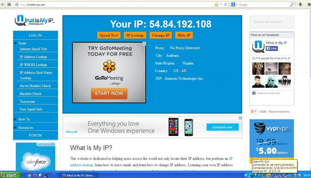 Amazon IP Address